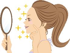 弱った肌には化粧品が刺激になることもあります