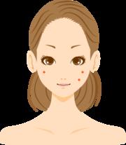 肌のトラブルが多いのですが特にニキビに悩んでいます。